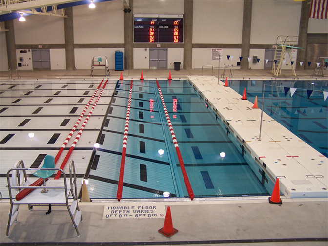 Aquatic environmental systems moveable pool floor for Movable swimming pool floor australia